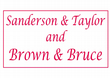 Sanderson & Taylor and Brown & Bruce Bass Wires